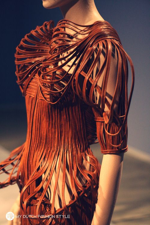 Design: Iris van Herpen in Groninger Museum Holland.  Photographed by: Christian from www.mydutchfashionstyle.com  more on www.mdfs.tumblr.com