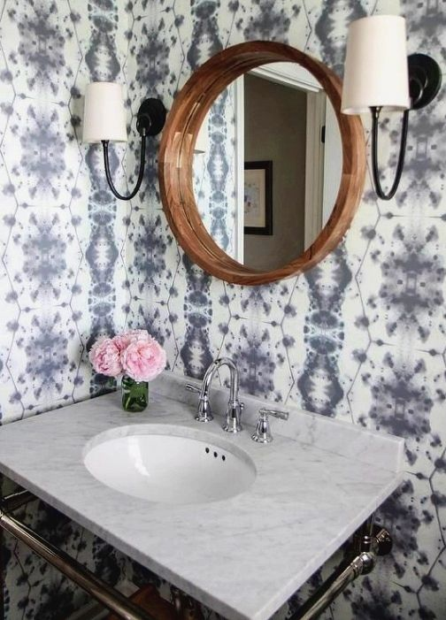 Bathroom Remodel Ideas Try Some Recycled Materials For Any Green Bathroom Design These Sal Bathroom Wallpaper Contemporary Elegant Bathroom Bathroom Makeover