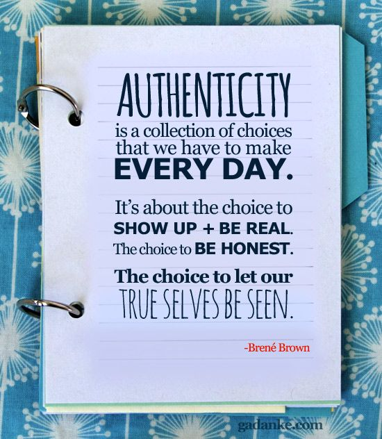 Be the Authentic You in Your Journal  (from Katie at makingthishome.com)