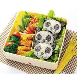 Panda shaped sushi roll!!