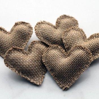 Jute-corsages, eenvoudig zelf te maken denk ik?
