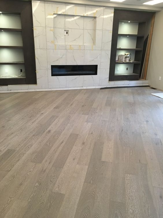 """beautiful 6' long engineered oak planks 6"""" wide  perfect for family rooms, kitchen, and living and dining rooms  available in 6 beautiful colours"""