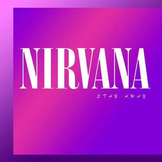 Nirvana – Stay Away (single cover art)
