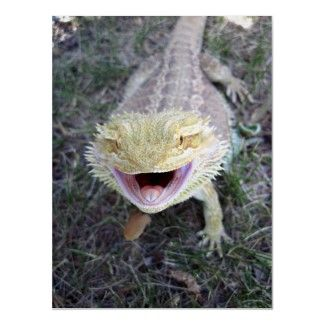 Mouths invitations and big mouths on pinterest - Bearded dragon yawn ...