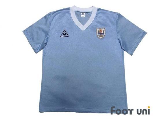 Uruguay 1986 Home Shirt In 2020 Retro Football Shirts Vintage Football Shirts Soccer Shirts