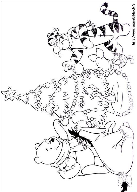 Weihnachten unter Freunden malvorlagen   Coloring Pages ...