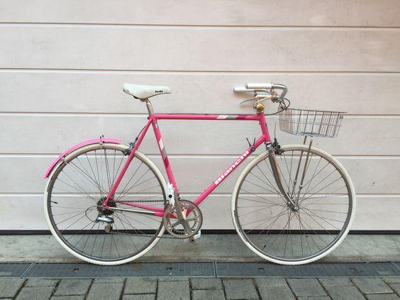 PINK PANTHER  - Bianchi Rekord 940 -   #Bianchi #Rekord_940 #Shimano_600 #tricolor