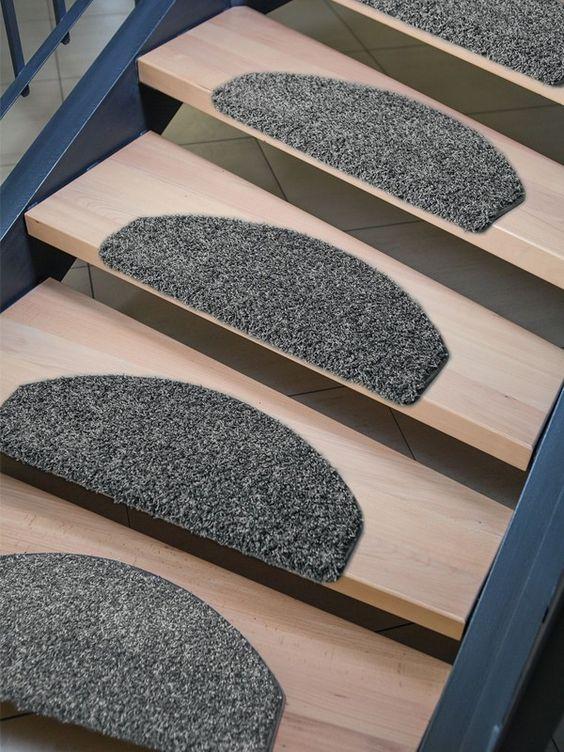 Marchette d'escalier shaggy STOCKHOLM Astra