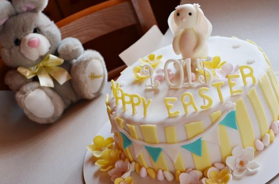 Easter Bunny cake and Harrods Bunny