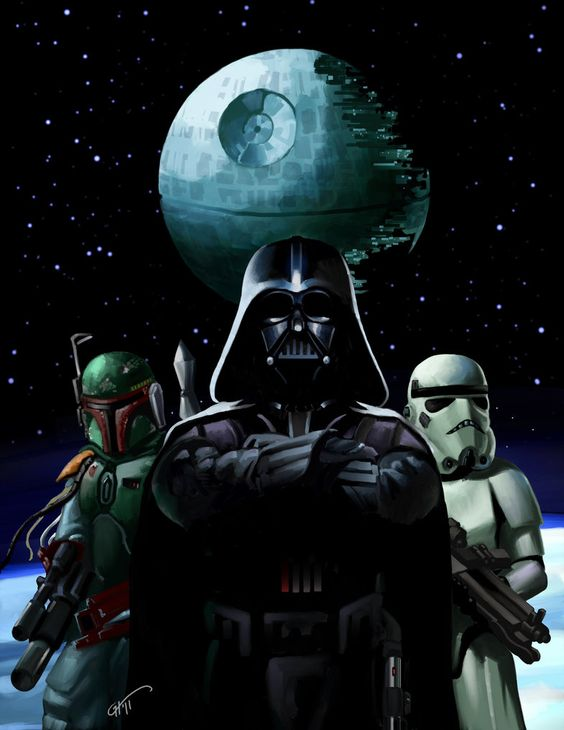 Star Wars Villains Painter X