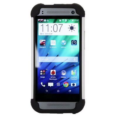 $4.19 (Buy here: http://appdeal.ru/aasn ) Detachable TPU and PC Material Football Texture Protective Back Cover Case for HTC One M8 mini for just $4.19