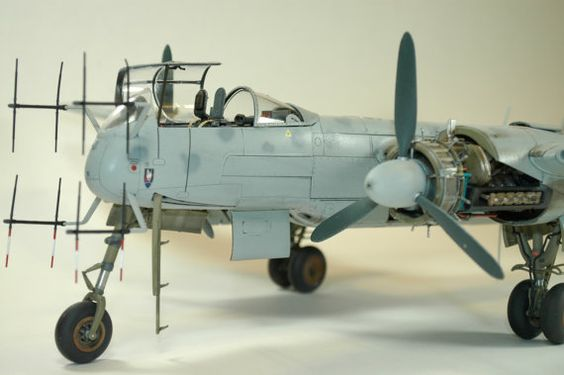 Presenting a handmade, fine detail, 1/32 He219 A-0 Uhu (Owl) by New England Model Works. Want a piece of history for your home or office? Contact us for details.