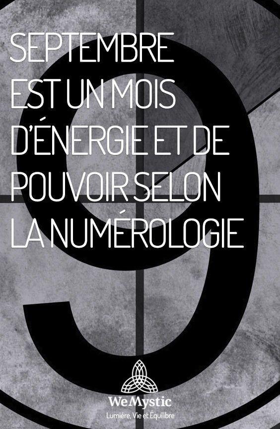 Septembre Est Un Mois D Energie Et De Pouvoir Selon La Numerologie Wemystic France Numerologie Enlever Le Mauvais Oeil Un Mois