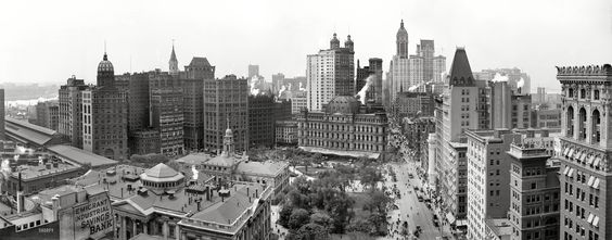 Shorpy Historical Photo Archive :: The Heart of New York: 1908