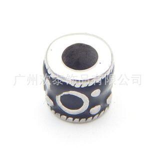 diy饰品配件手链材料 新款珠 不锈钢复古潘多拉大孔珠子 隔珠