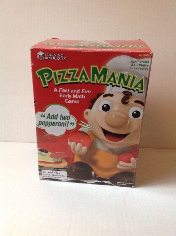 Learning Resources Pizza Mania Early Math Game