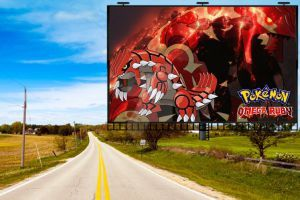 pokemon omega ruby poster