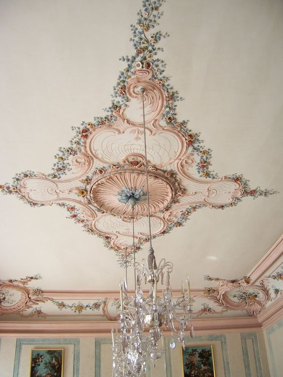 Rundale Palace Latvia, belongs on our ceiling.