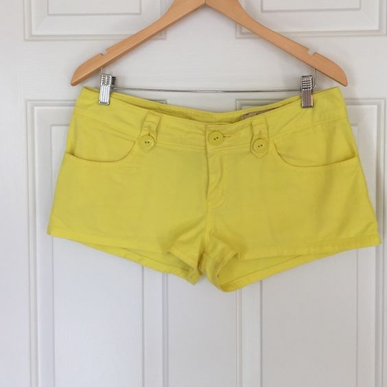 "Pac Sun, Stretch, Shorts Adorable and bright, short shorts. 2"" inseam. Lost Shorts"