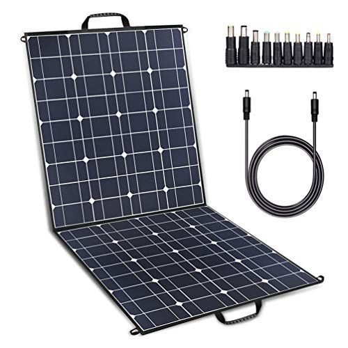 Twelseavan 100w Solar Panel Foldable Portable Solar Charg Https Www Amazon Com Dp B076k55cmb Ref In 2020 Solar Charger Portable Flexible Solar Panels Solar Panels