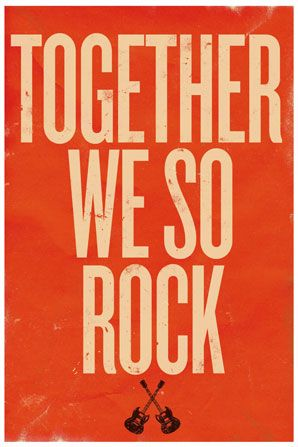 Rock.: Team Quotes, Best Friends, Rock Posters, Awesome Husband Quotes, Rock And Roll Posters, My Husband, Rock Stars, Rockstar Quotes