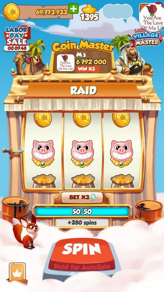 How much is coin master worth
