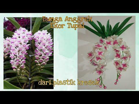 Cara Membuat Bunga Anggrek Ekor Tupai Dari Plastik Kresek How To