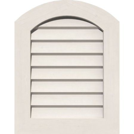 34 Inchw X 12 Inchh Vertical Gable Vent 39 Inchw X 17 Inchh Frame Size Unfinished Non Functional Pvc Gable Vent W 1 Inch X 4 Inch Fla Gable Vents Frame Sizes House Color Schemes