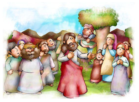 atividades para crianças baseadas no evangelho lucas 19,1-10 - Pesquisa Google