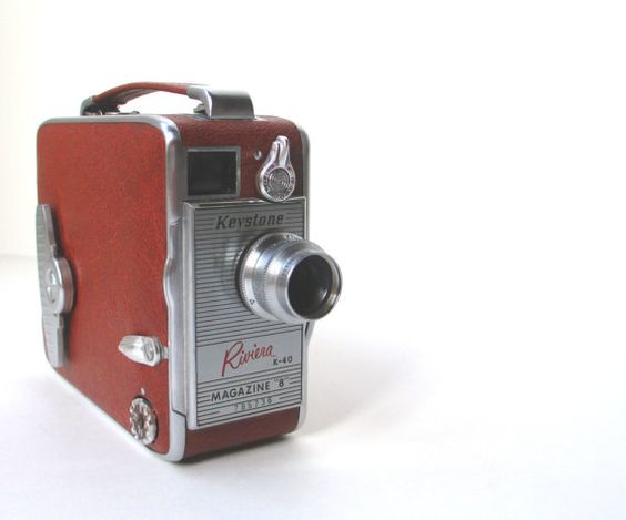 Vintage Keystone 8mm Camera Model Riviera by TheVintageResource