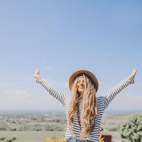 When you're on an adventure in a hat, recreate this picture. // Make it somewhere not local because that's lame.