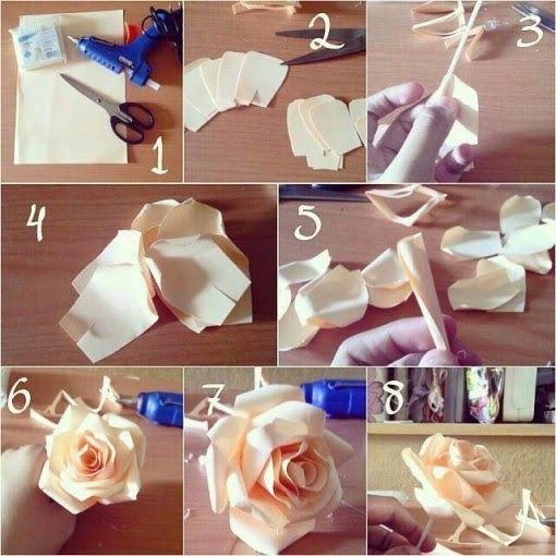9 Ide Cara Membuat Bunga Dari Kertas Dengan Mudah ... | 510x510