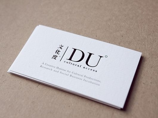 baseline workshop \/ duca namecard Inspiration Namecard - name card