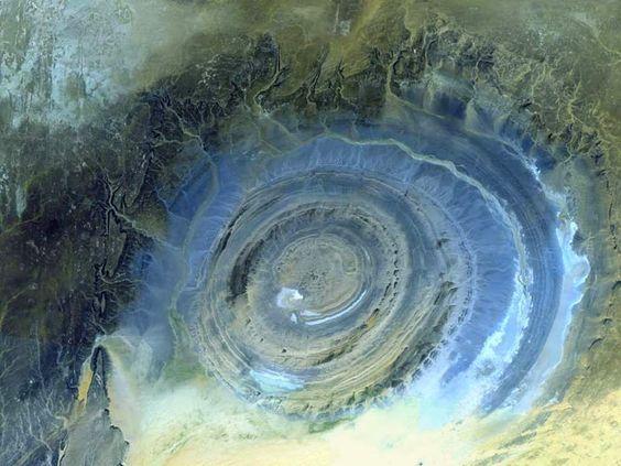 STRANGE PLACES - Eye of the Sahara ...
