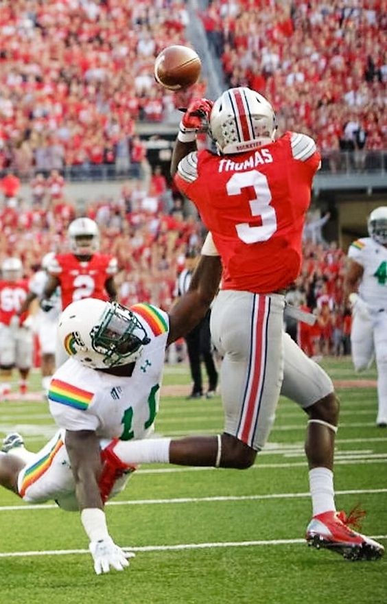 Michael Thomas #3 } *********** Ohio State Football #Buckeyes #GoBucks