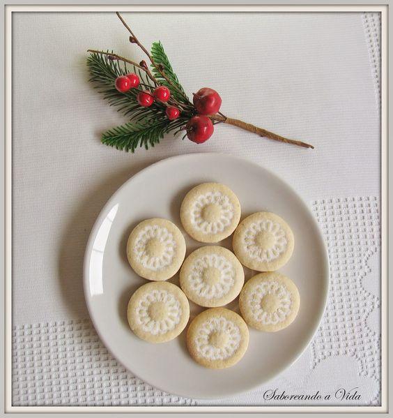 saboreando a vida: Bolachinhas de Leite condensado Para Presentear no Natal e... o que vem por aí.