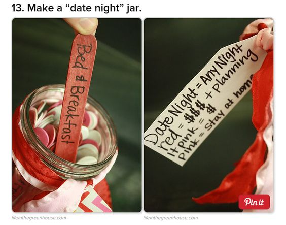 Make a ¨date night¨ jar