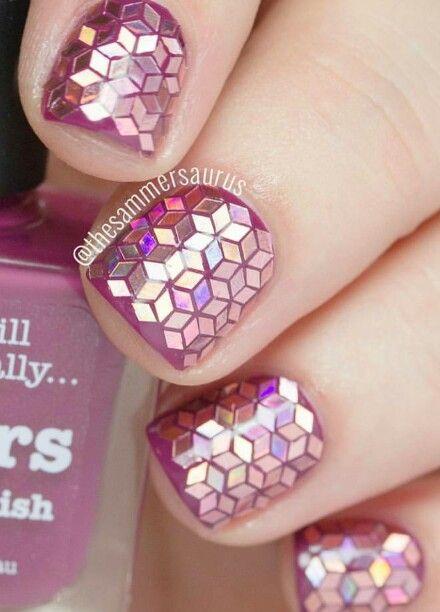 SO Beautiful pink nails!                                                                                                                                                                                 More:
