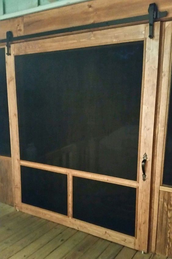 10 Inspiring Sliding Barn Door Ideas Masnewsclub In 2020 Diy Screen Door Sliding Screen Doors Screened In Patio
