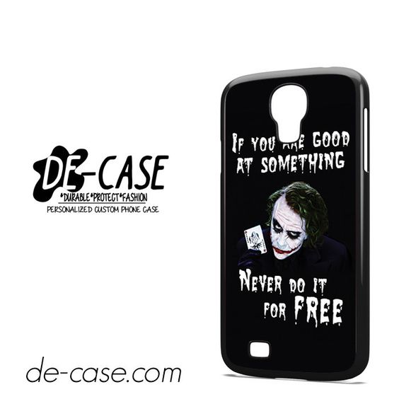Joker Quotes DEAL-5943 Samsung Phonecase Cover For Samsung Galaxy S4 / S4 Mini