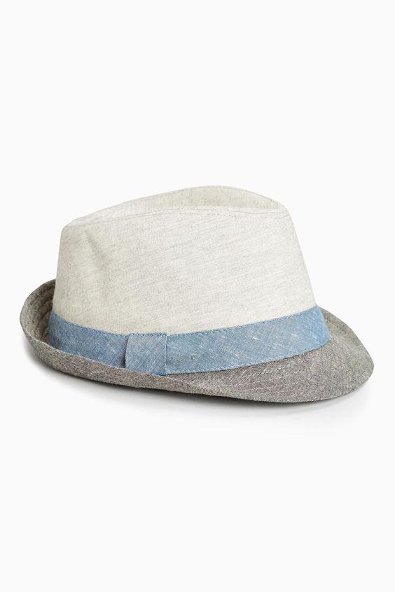 Kup online dziś w Next: Polska Szary kapelusz filcowy (Starsi chłopcy)