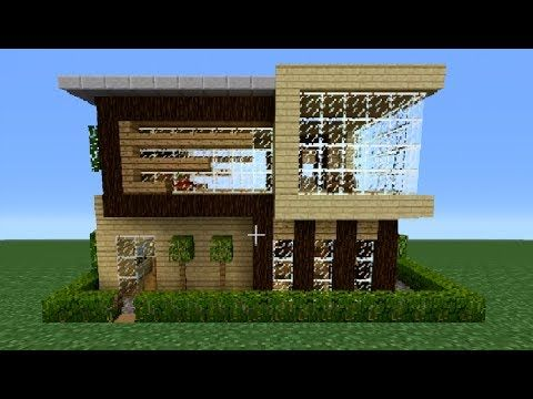 Minecraft House Tutorial 10x10 Modern House YouTube Home
