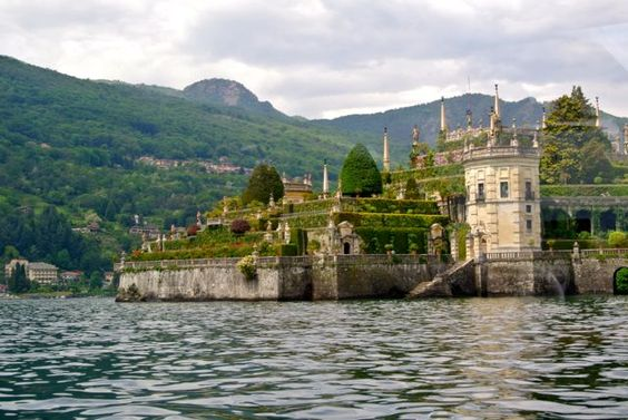 Lovely Isola Bella on Lake Maggiore