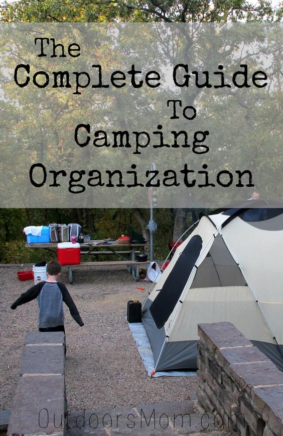 OutdoorsMom: Bins, Buckets & Beyond: The Complete Guide to Camping Organization