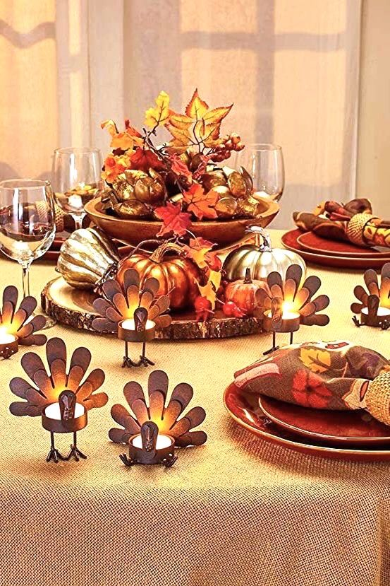 Pin By Judy Aviles On Autumn Is Here In 2020 Thanksgiving Table Decorations Thanksgiving Decorations Diy Easy Thanksgiving Decorations