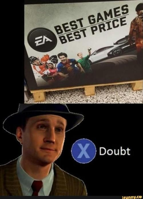 Press X To Doubt Show The World That You Are A Real Gamer Follow Us For More Video Gaming Related Posts Funny Games Video Games Funny Gaming Memes