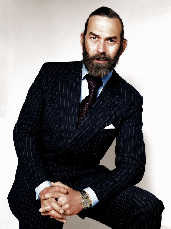 alifewellsuited prince michael of kent the only member of the royal family rocking the beard. Black Bedroom Furniture Sets. Home Design Ideas
