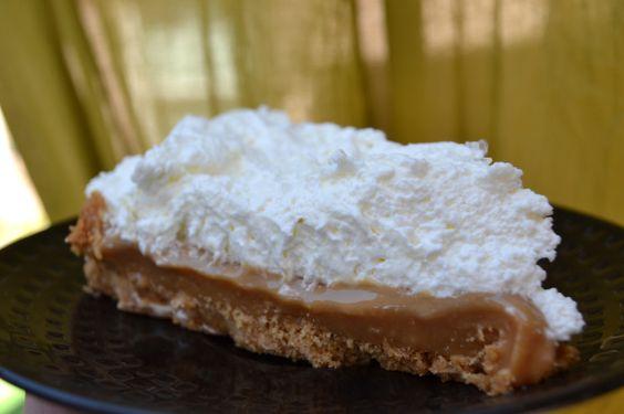 Salted Caramel Pie......ummmmm!