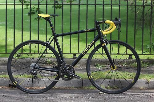 Review Enigma Evade Ti Road Cc Roadbikereviews Bike Brands