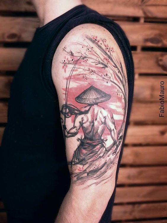Un tatouage réalisé par Fabio Mauro